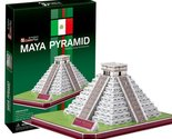 Temple of 3D three-dimensional puzzle Castillo Maya civilization Kukulcan (japan