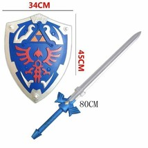 2 Pcs/Set Skyward Sword & Shield 1:1 Game Cosplay Link Material Weapon S... - $41.17+