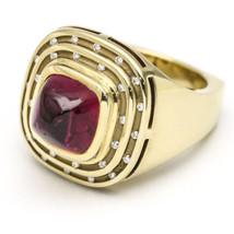 2.00ct Tourmaline and Diamond Ring in 14k Yellow Gold - $2,727.45