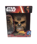 STAR WARS THE FORCE AWAKENS CHEWY CHEWBACCA ELECTRONIC TALKING MASK - $99.99