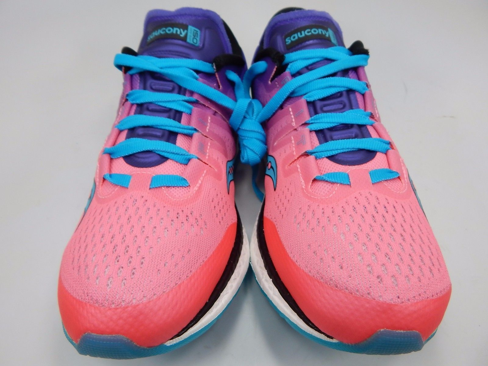 Saucony Freedom ISO Women's Running Shoes Size US 8 M (B) EU 39 Pink S10355-8