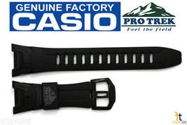 CASIO Pro Trek Pathfinder PRG-110Y Black Rubber Watch BAND Strap PRW-1300Y - $65.65
