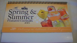 Finest Call Spring & Summer 2015 Cocktail Recipe Collection Book Spiral ... - $9.89