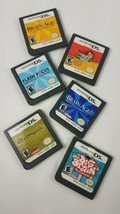 Lot Bundle 6 Nintendo DS Games Brain Age 2 Academy Flash Margot's Word Wordjong - $19.75