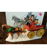 Dept 56 Snow Village Accessory 1997 Hitch-Up The Buckboard 54930 Retired... - $16.00