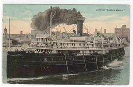 Steamer Eastern States 1911 postcard - $7.00