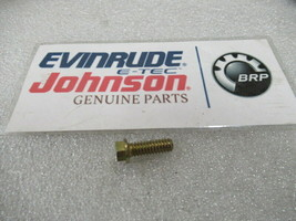 E120 Johnson Evinrude OMC 314979 Screw Exhaust Cover OEM New Factory Boat Parts - $8.15