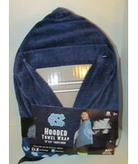 UNC Hooded child's towel wrap NEW University of North Carolina blue Tarh... - $19.79
