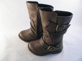 Kenneth Cole Reaction Shake n Flake Boot Dark Brown Size 5M Tod - Free S... - $286,27 MXN