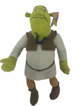 "Shrek the Third 14"" Plush Doll Dreamworks 2004 With Tag - $38.60"