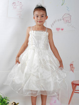 New Flower Girl Party Bridesmaid Dress Burgundy Ivory Pink White 5 6 7 8... - $15.91
