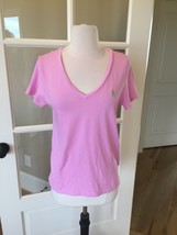 Ralph Lauren Sport Pink Tee Short Sleeve Top Fits M Women - $5.99