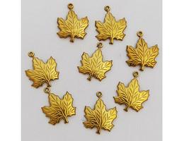 Yvonne Albritton Designs Leaf Charms, Set of 8