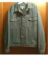 Vtg Bugle Boy Size XL Denim Trucker Blue Jeans Jacket Mens Lots of Pockets - $47.47