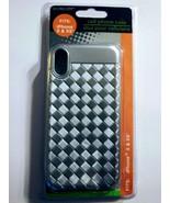 I Phone X/XS Grey Thread Phone Case - $3.57