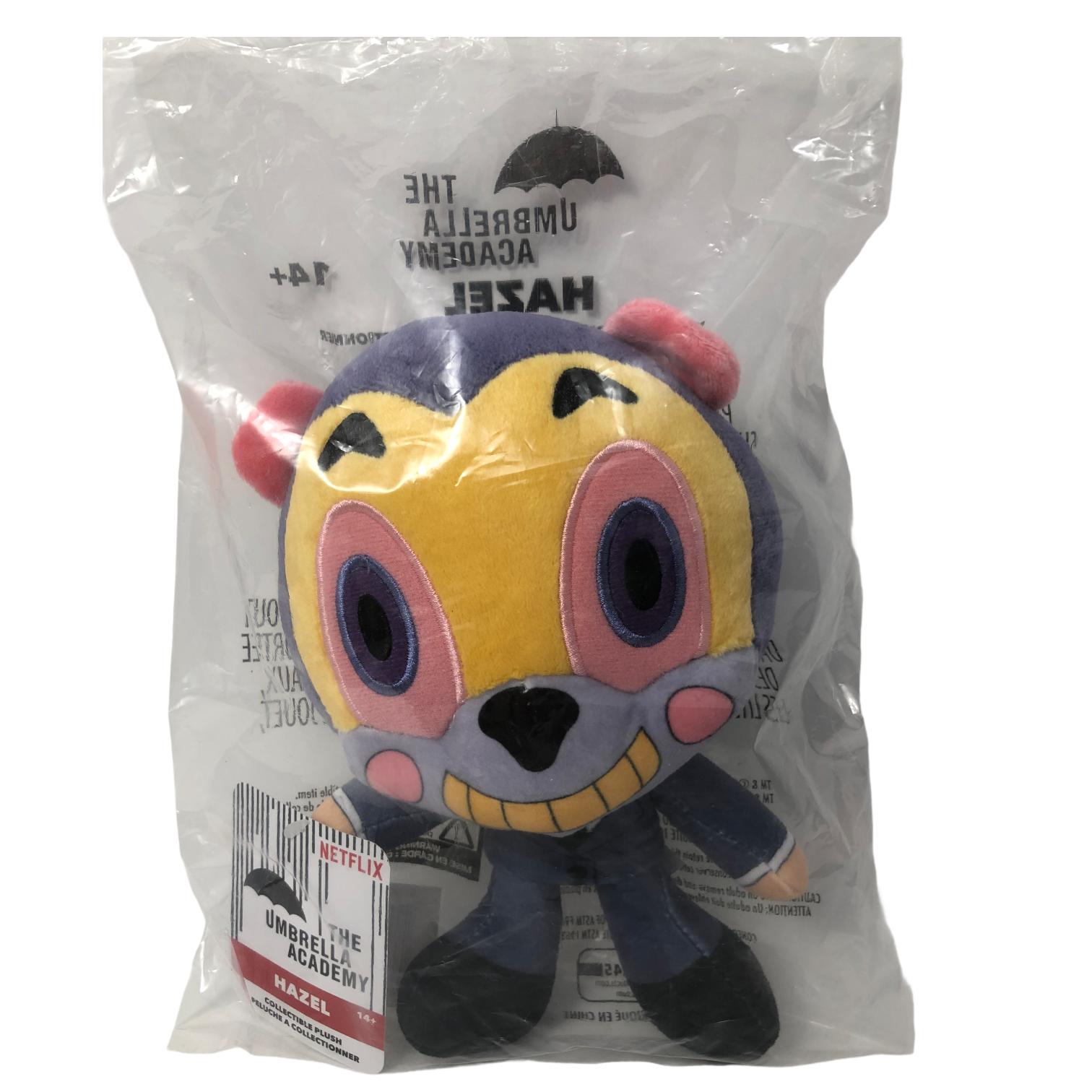 "The Umbrella Academy Netflix Hazel Collectible Plush Stuffed Animal Toy 8"" Tall  - $20.00"