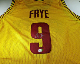 CHANNING FYRE / NBA CHAMPION / HAND SIGNED CLEVELAND CAVALIERS CUSTOM JERSEY COA