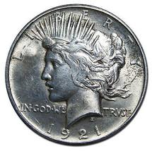 1921 Peace Silver Dollar Coin -  Lot # MZ 2947