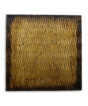 "24"" x 24"" Bronze Metallic S Pattern Wall Art - $203.03"