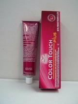 Wella Colore Touch Plus Professionale Ossidante Demi-Permanent Capelli ~59ml - $4.89+