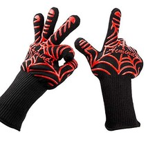 Acmind BBQ Grill Gloves, 932°F Heat Resistant Grilling Gloves, Barbecue ... - $19.67
