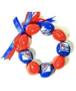NEW YORK RANGERS BRACELET BEADS NHL TEAM LICENSED NEW - £5.05 GBP