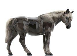 Hagen Renaker Miniature Horse Morgan Mare Ceramic Figurine Boxed image 3