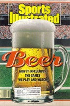 Sports Illustrated Magazine, August 8 1988, Beer How It Influences The G... - $2.75