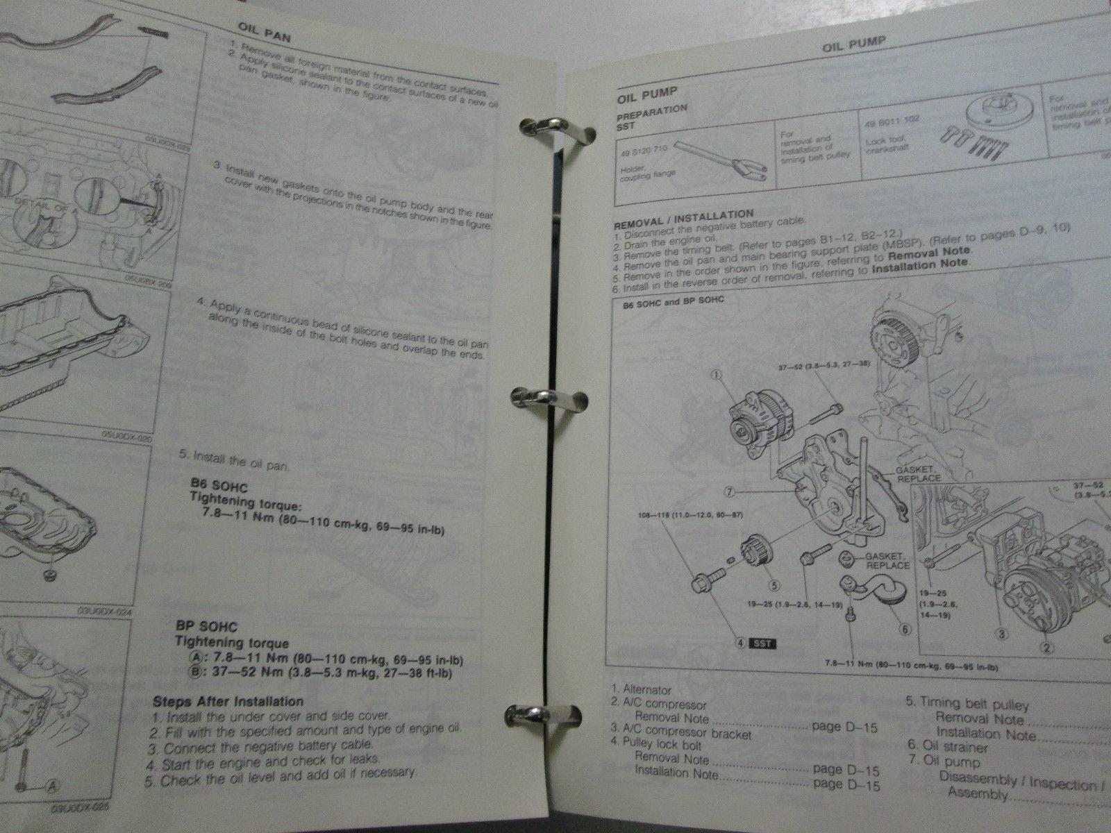 1991 Mazda 323 Protege Service Repair Shop And 50 Similar Items