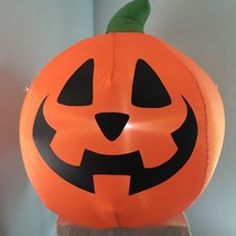 Gemmy Halloween Airblown Inflatable Pumpkin Light Up 3' Jack O Lantern D... - £26.86 GBP