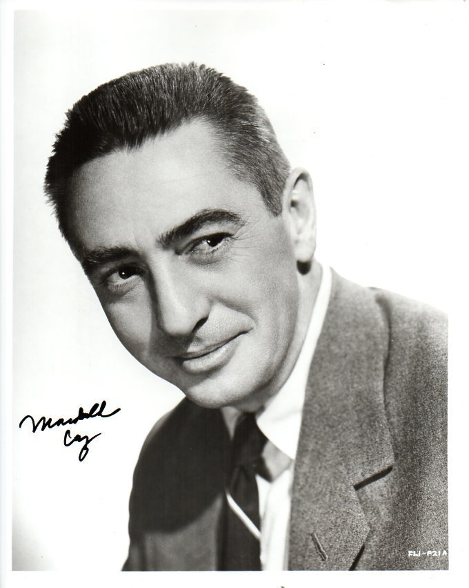 Primary image for Macdonald Carey (d. 1994) Signed Autographed Vintage Glossy 8x10 Photo