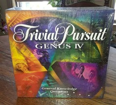 TRIVIAL PURSUIT GENUS IV Edition Board Game -New In Sealed Box- Parker B... - $24.75