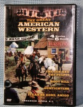 The Great American Western - Vol. 13  Made  in Canada (DVD, 2003) 4 Movies - $8.75