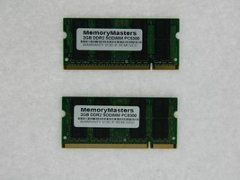 4GB 2x2GB DDR2-667 SODIMM Memory Dell Latitude D630 D830 for BIOS A17 or later