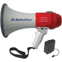 AmpliVox SB601R Mity-Meg 15-Watt Megaphone (Bundled with rechargeable ba... - $195.99