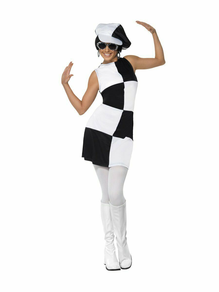 Primary image for Smiffys 1960er Jahre Gogo Party Girl Mod Kleid Erwachsene Damen Halloween Kostüm