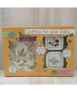 Homemade Baby Food Recipe Book Container Sticker Gift Set Cooking Health... - $9.88
