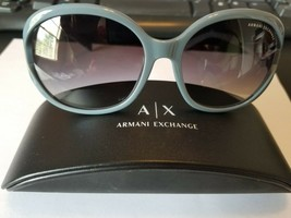 Armani Exchange AX 4021S 8076/11 BLUE / Gradient GREYlens 57-16mm 3N NEW... - $69.30