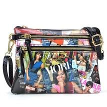 Michelle Obama Magazine Printed Messenger Bag - MOD 6052 - $49.99