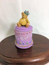 Cherished Teddies Covered Box Birthday Age 6  2001  NIB - $29.65