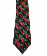 Vintage J Garcia Necktie Tie Dawn At The Ritz Carlton USA Made Popping C... - $9.90