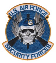 USAF MP SECURITY FORCES PATCH NEW!!! - $11.87