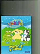WEBKINZ  Trading card book with over 23 pages of Collector Cards    by Ganz - $7.91