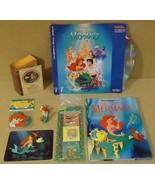 Golden Disney Little Mermaid Stereo laser Videodisc Book - $49.88