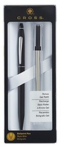 Cross Click Classic Black Ballpoint Pen with Chrome Appointments and Bon... - $20.66