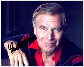 CHARLTON HESTON  Authentic Original AUTOGRAPHED SIGNED PHOTO w/ COA 2075