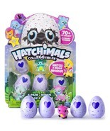 Hatchimals CollEGGtibles 4-Pack + Map + Bonus ( Styles & Colors May Vary ) - $15.18