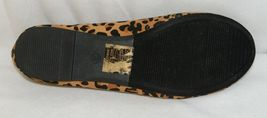 Anna Truman 1 Loepard Print Suede Womens Flats Size 7 And Half image 6