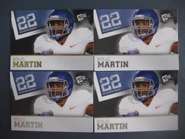 (4) Doug Martin Rc Lot (3) 2012 Press PASS/PRESS Pass Gold Tampa Bay Buccaneers - $3.96