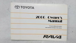 2006 Toyota Rav4 Owners Manual 53064 - $54.22
